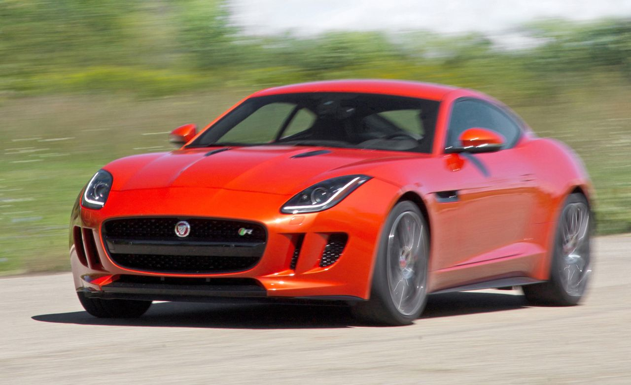 2015 jaguar f type r coupe test review car and driver - Jaguar f type r coupe prix ...