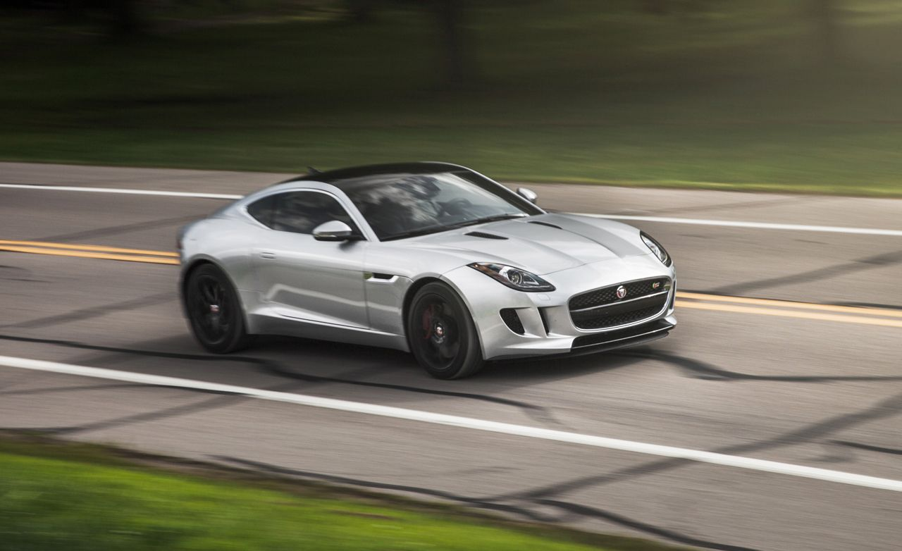 2015 Jaguar F Type V 6 S Coupe