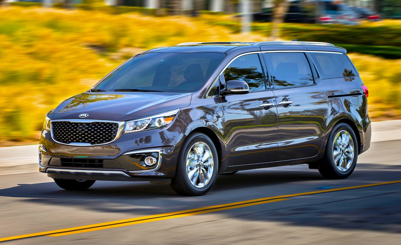 2019 Kia Sedona Reviews Price Photos And Specs Car Driver