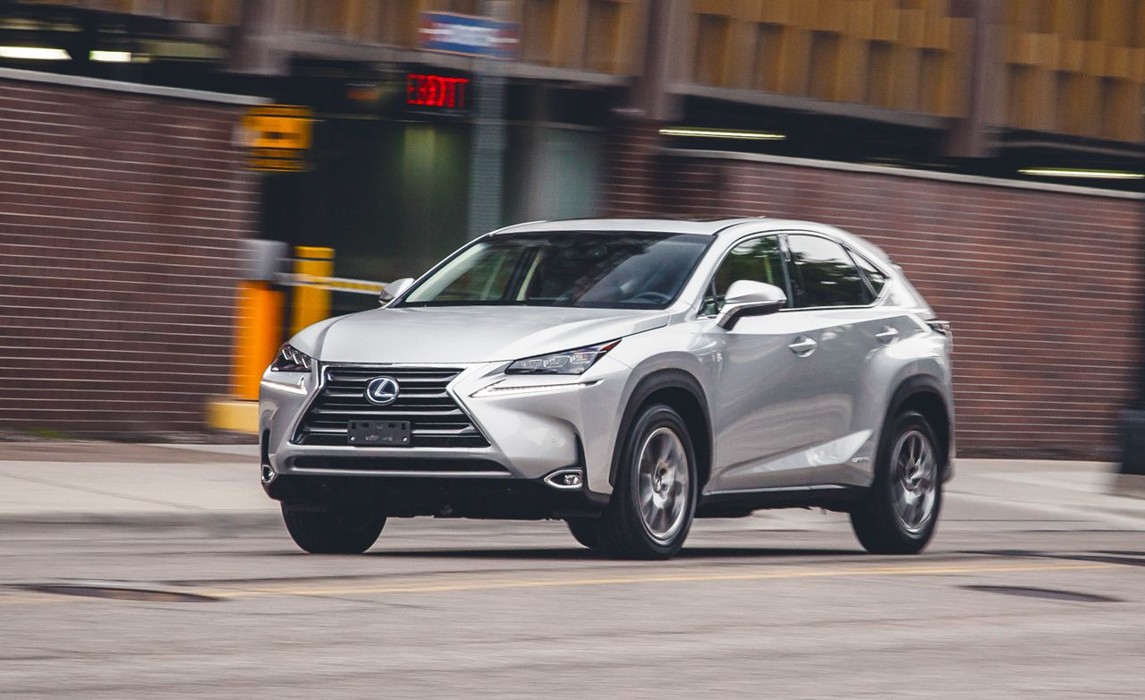 2015 Lexus NX300h Hybrid FWD Test  Review  Car and Driver