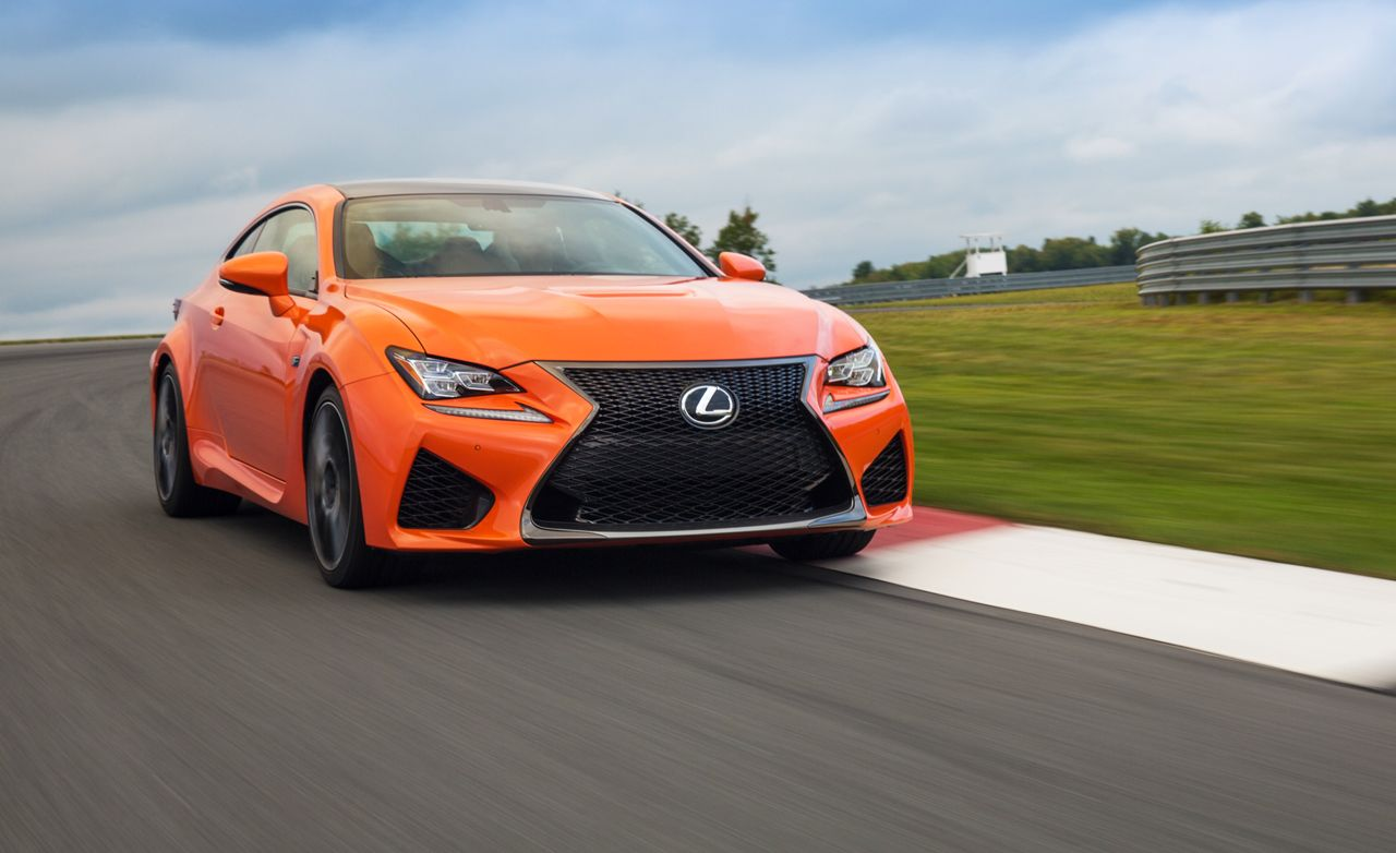 2015 Lexus Rc F First Drive Review Car And Driver