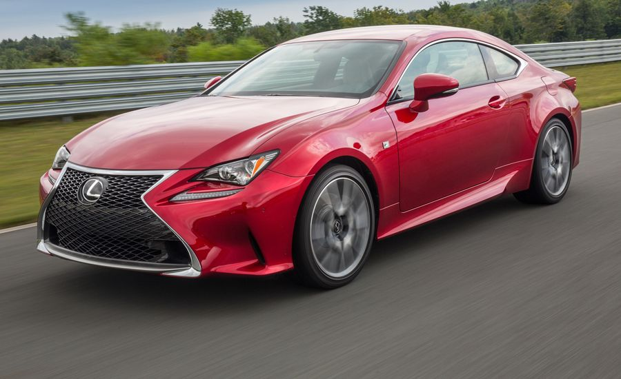 2015 lexus rc350 coupe first drive review car and driver. Black Bedroom Furniture Sets. Home Design Ideas