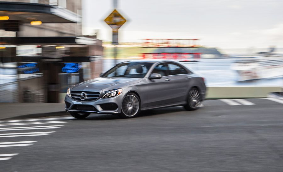 2015 mercedes benz c300 4matic first drive review car for Mercedes benz 4matic meaning