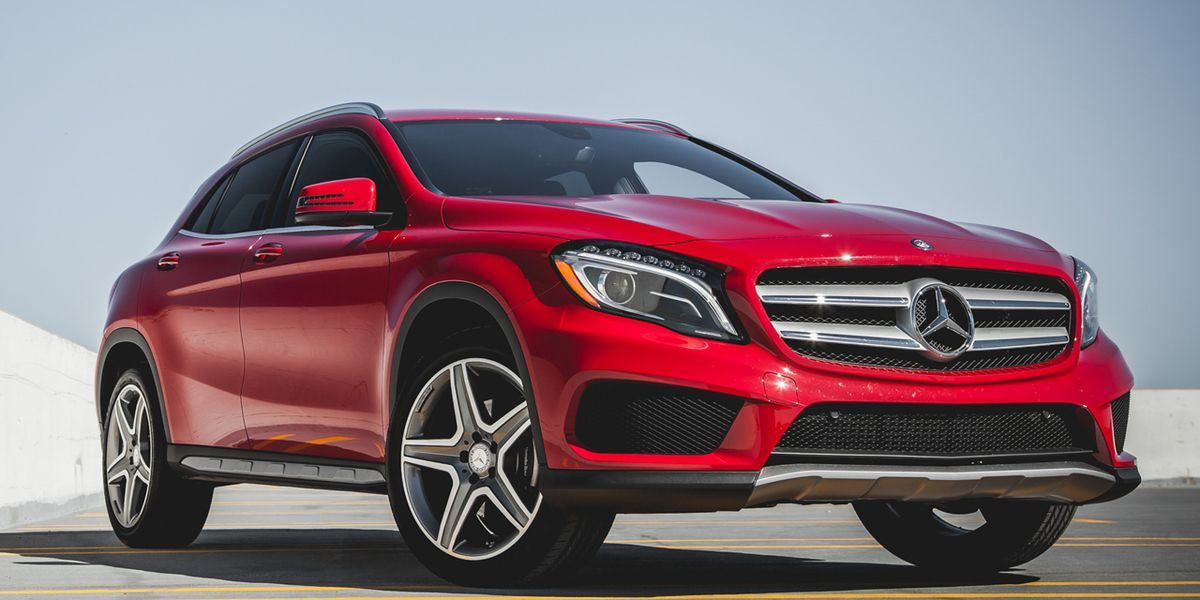 2017 Mercedes Benz Gla250 4matic Test 8211 Review Car And Driver