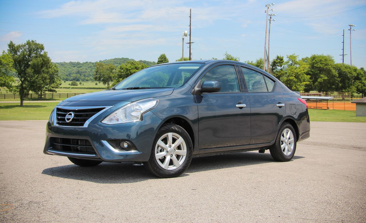 2015 nissan versa sedan first drive review car and driver. Black Bedroom Furniture Sets. Home Design Ideas