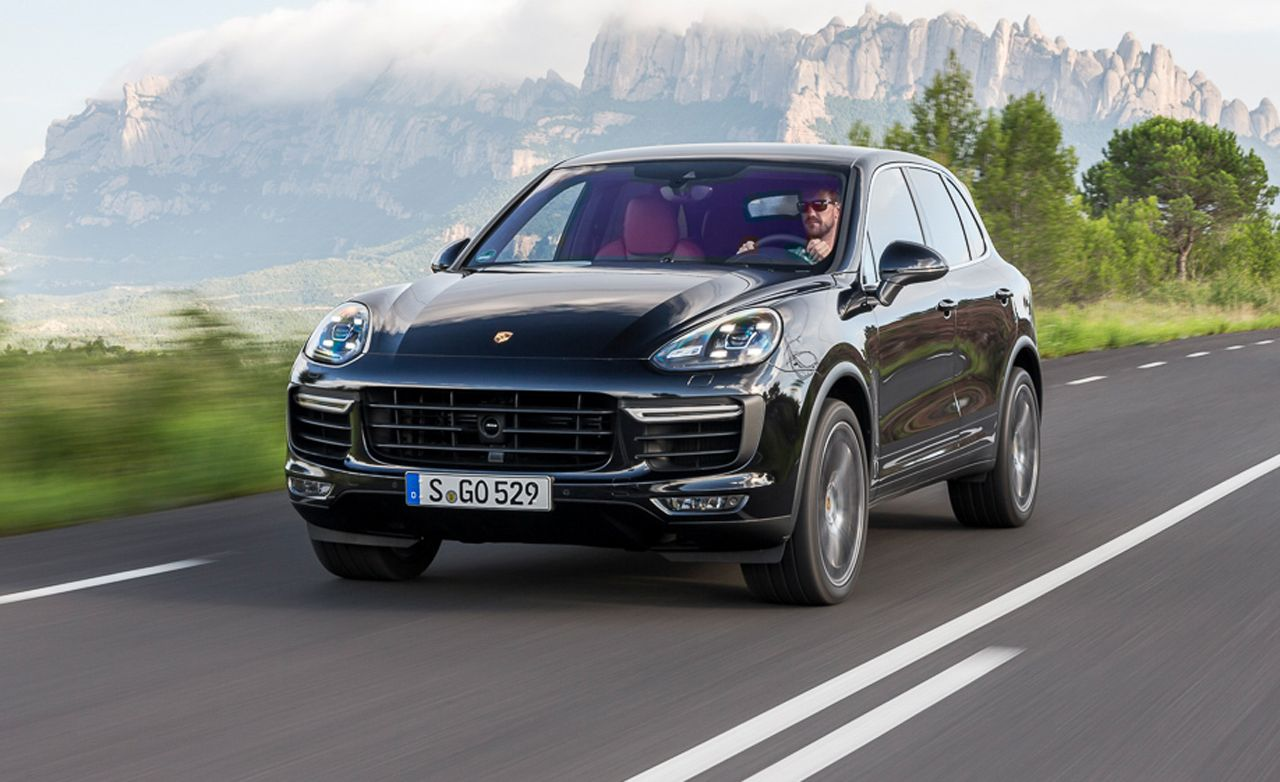 2015 porsche cayenne turbo first drive – review – car and driver