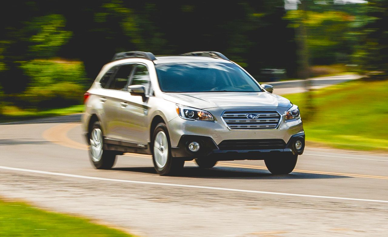 2015 subaru outback 2 5 test review car and driver. Black Bedroom Furniture Sets. Home Design Ideas