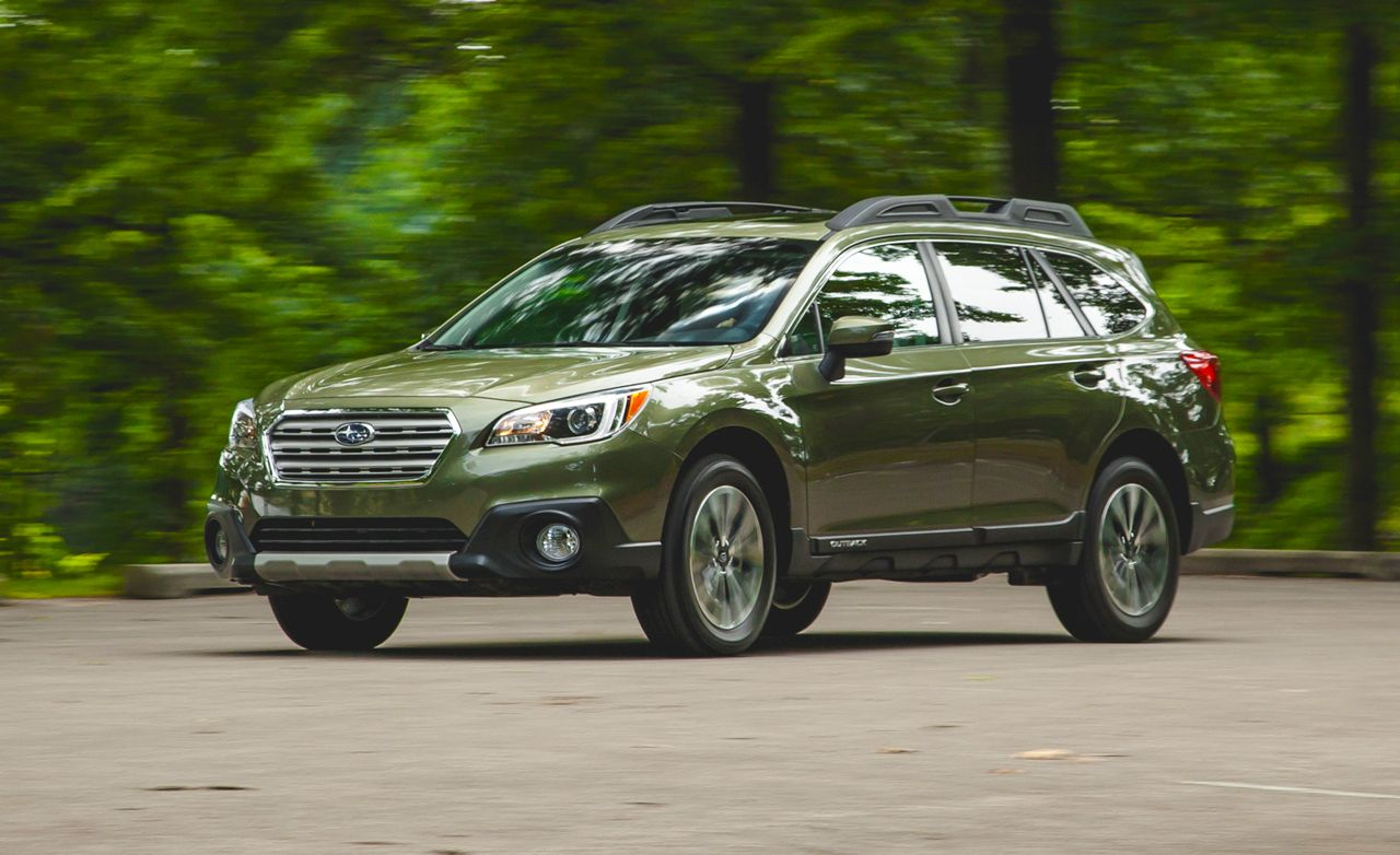 2015 subaru outback 3.6r instrumented test – review – car and driver