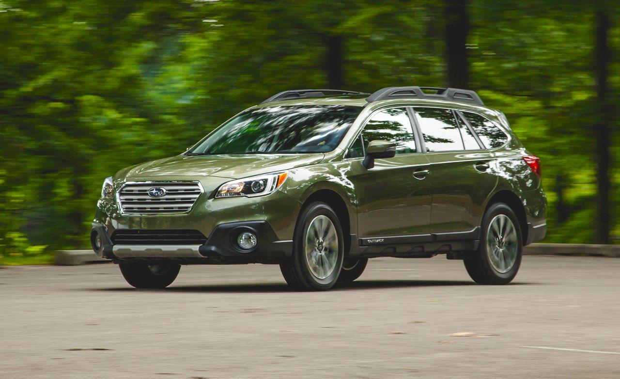 Subaru outback reviews subaru outback price photos and specs 2015 subaru outback 36r vanachro Images