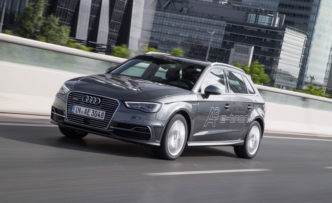 2018 Audi A3 Sportback E Tron Reviews Price Photos And Specs Car Driver
