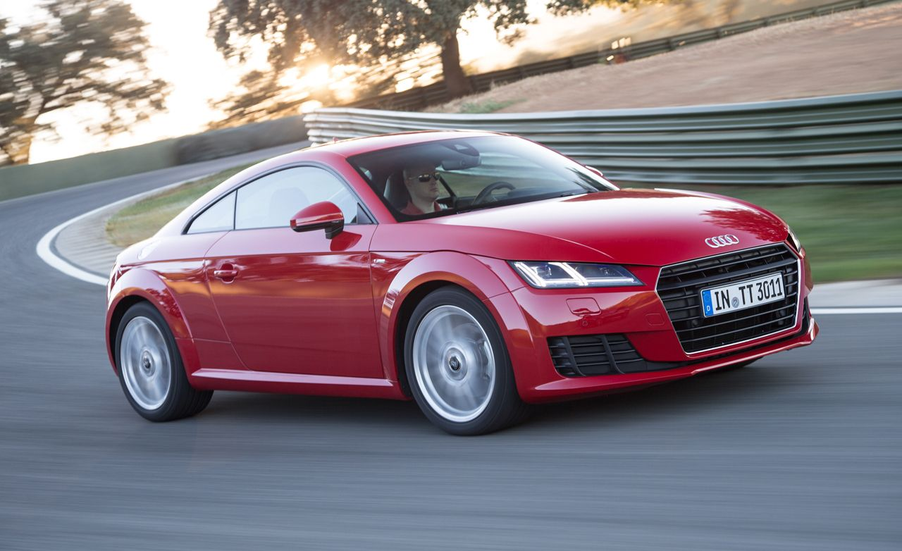 2016 audi tt first drive review car and driver. Black Bedroom Furniture Sets. Home Design Ideas