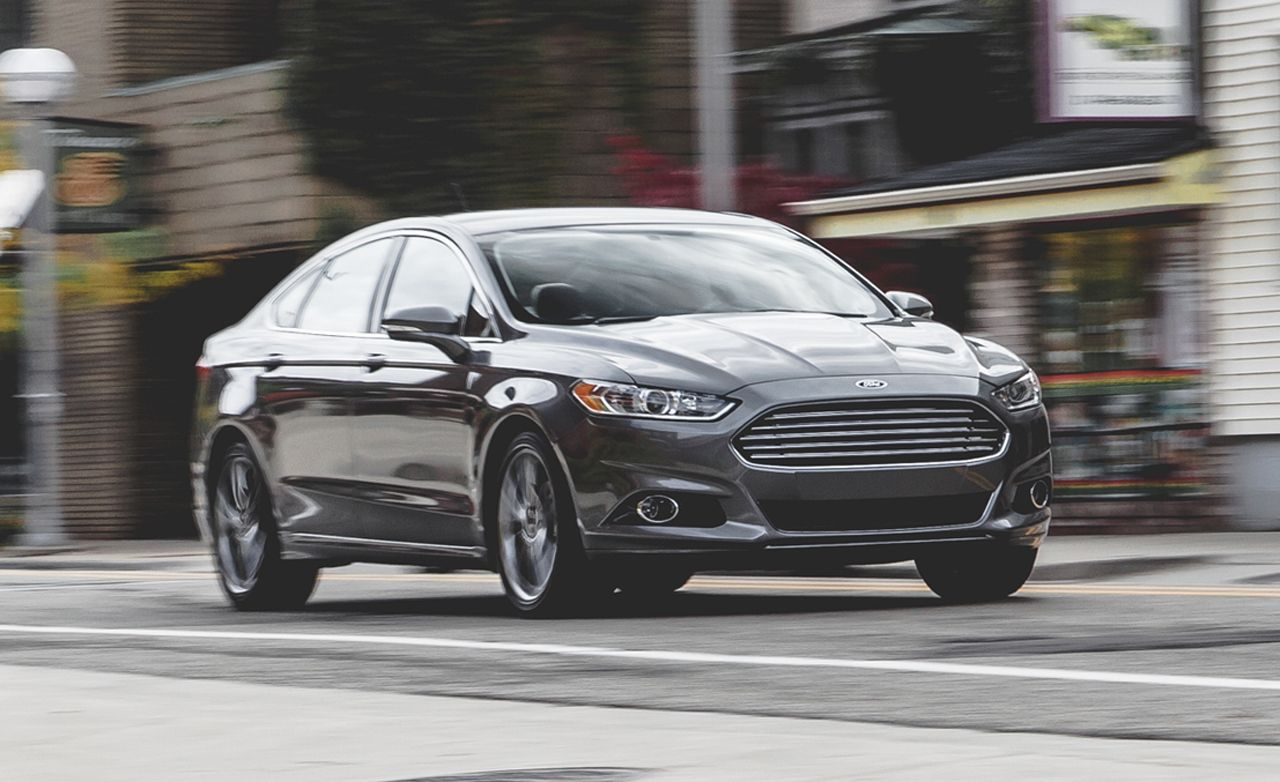 2017 Ford Fusion 2 0 Ecoboost >> Ford Fusion Titanium 2 0l Ecoboost Awd Test Review Car And Driver