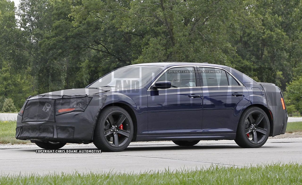 2015 Chrysler 300 300 Srt Spy Photos 8211 News 8211 Car And
