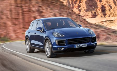 2015 Porsche Cayenne Photos and Info: Plastic and Internal Surgery