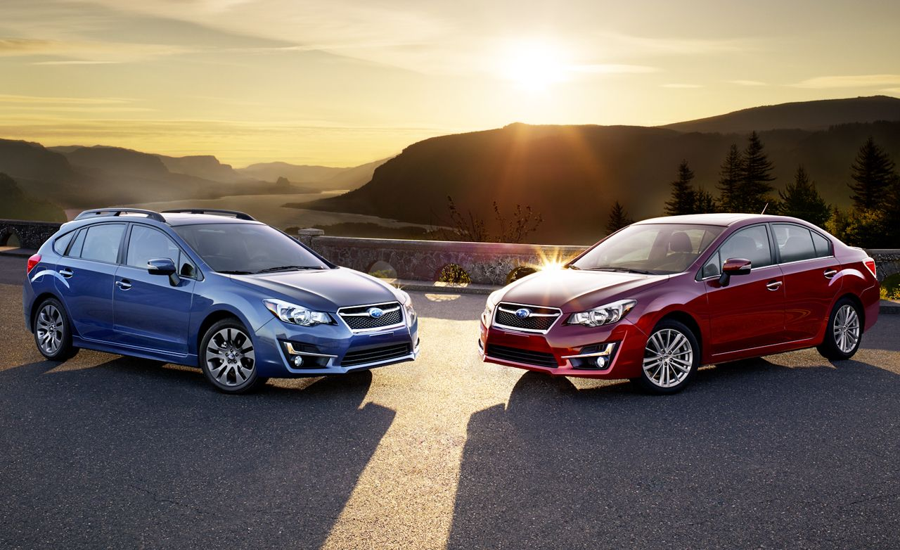 2015 Subaru Impreza Freshened: Stepping Out of the WRX's Shadow?