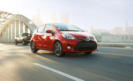 2015 Toyota Yaris Debuts: New Nose, New Dash, Still a Car