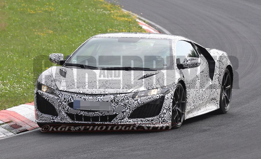2016 Acura NSX Spy Photos: Finally Nearing Its Release