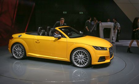 2016 Audi TTS Roadster Debuts: Gunning for the Porsche Boxster?