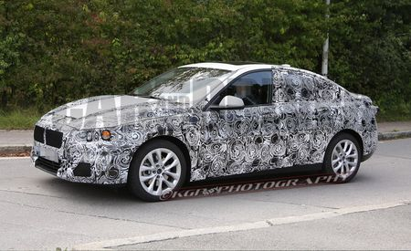 2016 BMW 1-series Sedan Spy Photos: Yes, the Front-Wheel-Drive One
