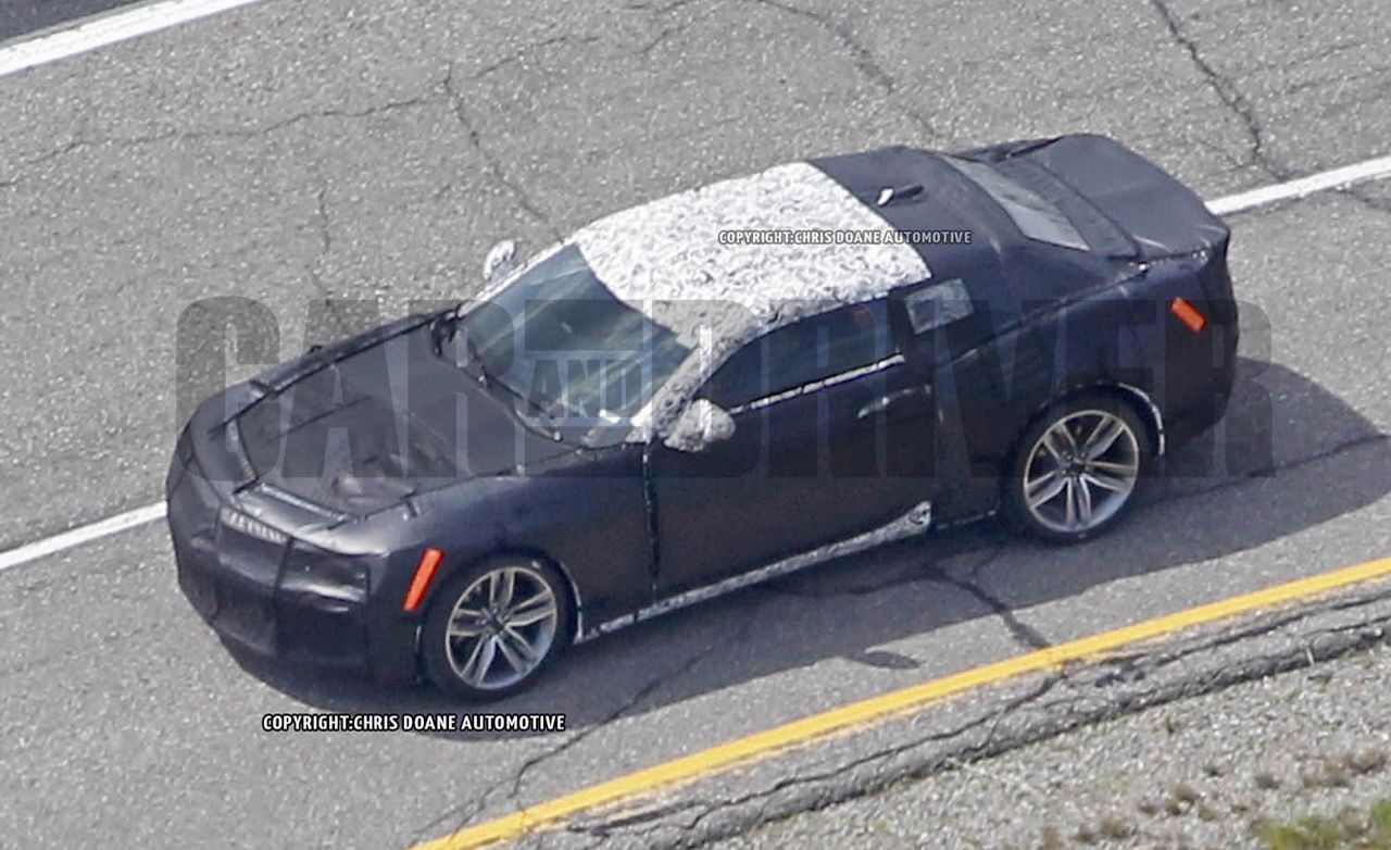 2016 Chevrolet Camaro: First Spy Photos Of The All New Car!