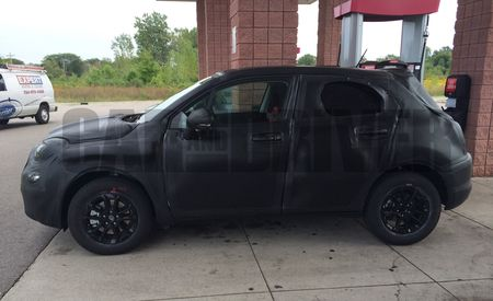2016 Fiat 500X Spy Photos