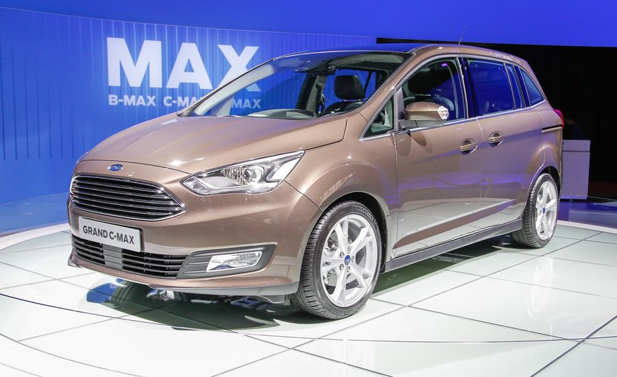2016 Ford C-Max and C-Max Energi Previewed by Updated European-Market C-Max