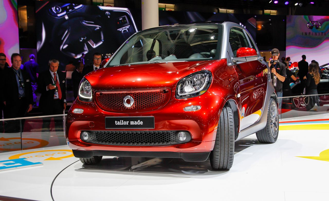 Smart Fortwo Reviews  Smart Fortwo Price Photos and Specs  Car