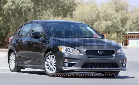2017 Subaru Impreza Spy Photos
