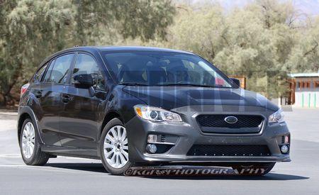 2017 Subaru Impreza Spy Photos