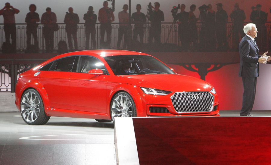 Audi TT Sportback Concept Photos And Info News Car And Driver - Audi concept