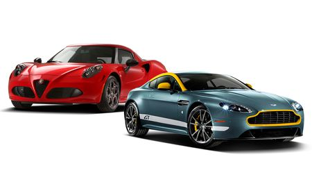 New Cars for 2015: Alfa Romeo and Aston Martin