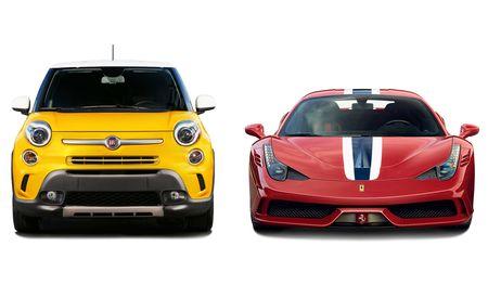 New Cars for 2015: Ferrari and Fiat