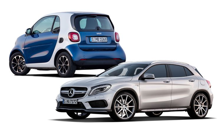 New Cars for 2015: Mercedes-Benz and Smart