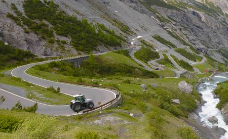 Enraging Bull: A Monster Lamborghini Attacks Italy's Monster Road