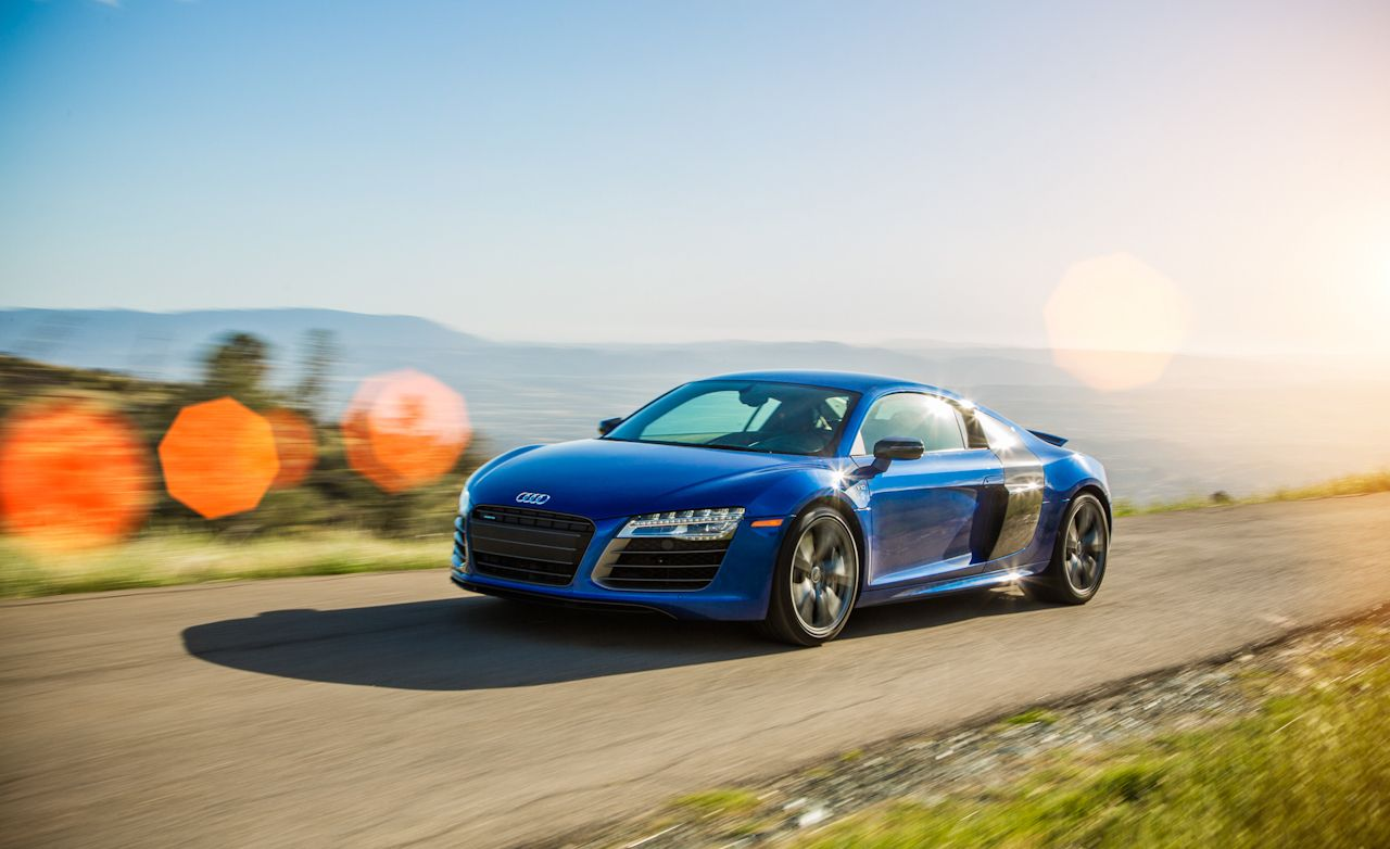 Lightning Lap 2014: Audi R8 V-10 Plus