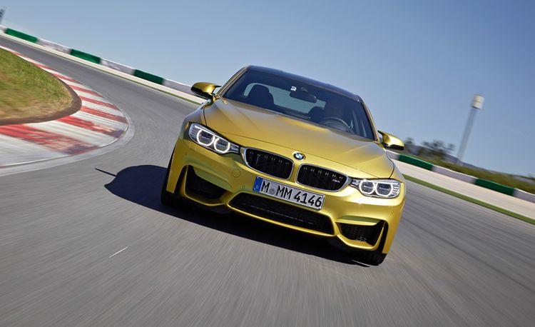 Lightning Lap 2014: BMW M4