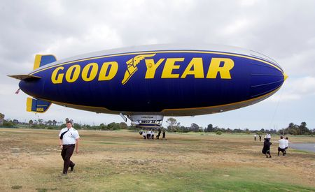 First Ride in the New Goodyear Blimp, L.A.'s Preeminent Gasbag