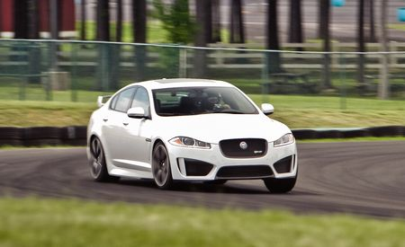 Lightning Lap 2014: Jaguar XFR-S
