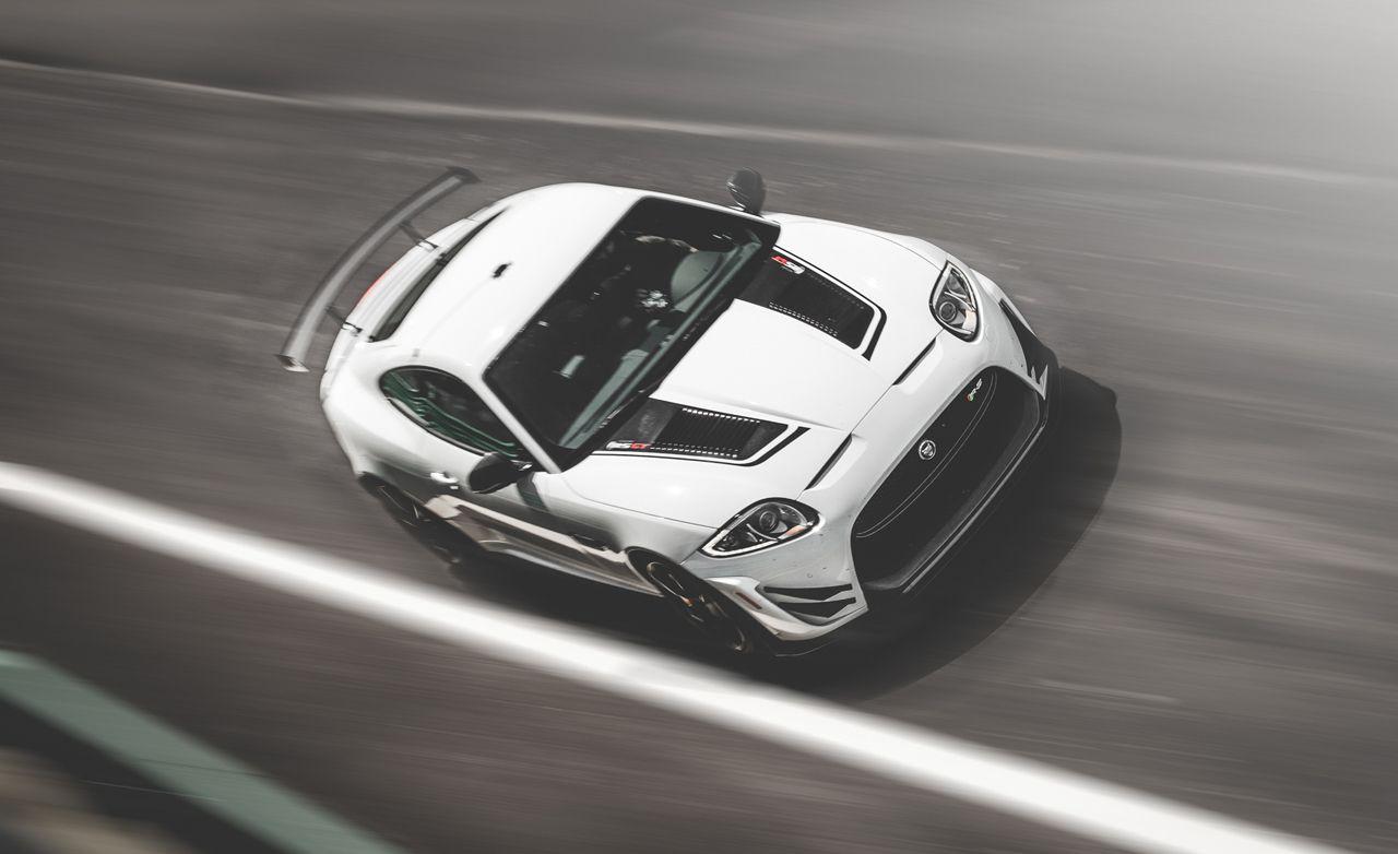 High Quality Lightning Lap 2014: Jaguar XKR S GT