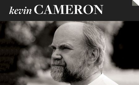 Kevin Cameron: On the Persistence of the Internal-Combustion Engine