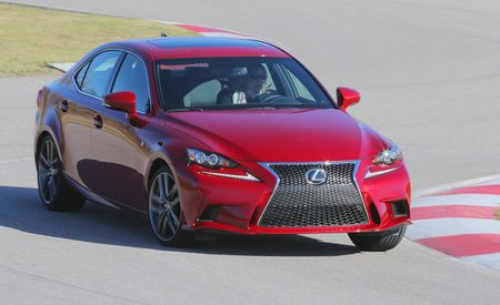 Lightning Lap 2014: Lexus IS350 F Sport