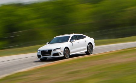 Lightning Lap 2014: Audi RS7 Hot Lap Video