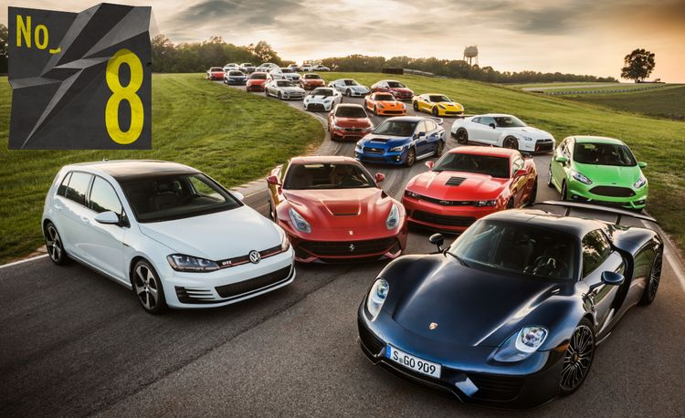 Lightning Lap 2014: We Attack VIR with 25 of the Year's Hottest Performance Cars