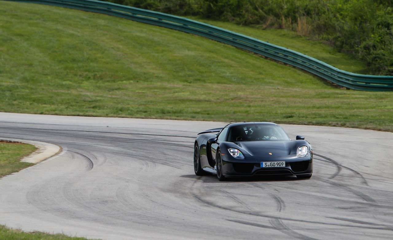 lightning lap 2014 porsche 918 spyder hot lap video