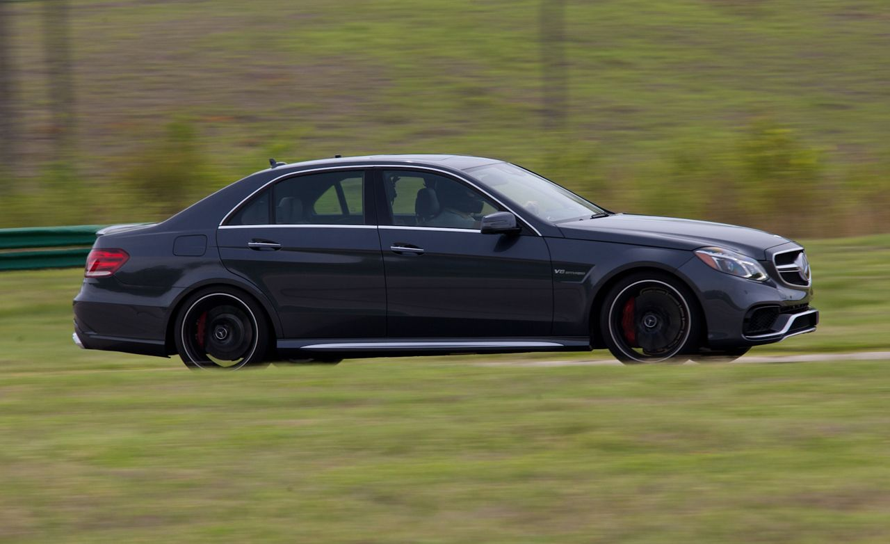 Mercedes Benz E63 Amg S Model At Lightning Lap 2014 8211 Feature