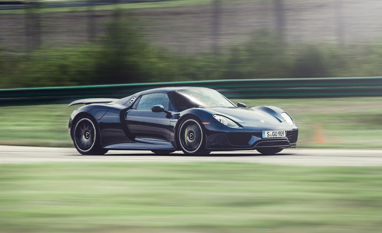 Porsche 918 Spyder At Lightning Lap 2014 Feature Car And Driver Engine Diagram