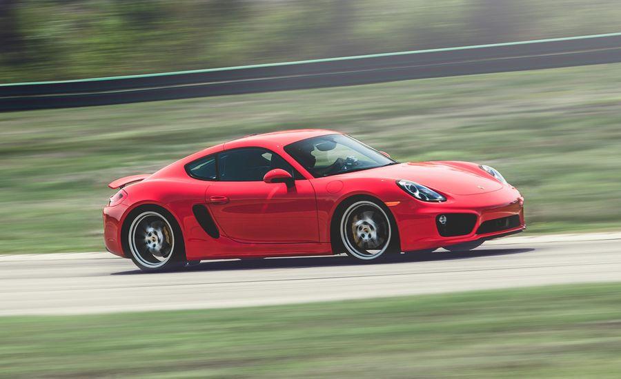 Lightning Lap 2014: 2014 Porsche Cayman S