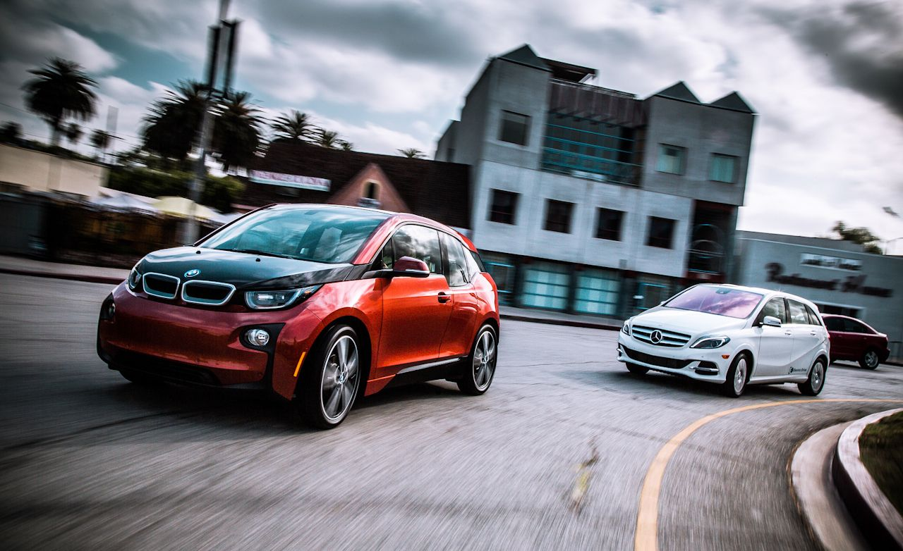 2014 BMW i3 vs. 2014 Mercedes-Benz B-class Electric Drive