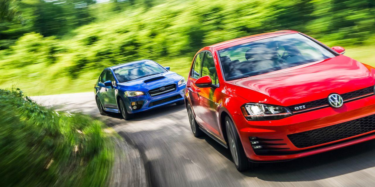 2015 Subaru WRX vs. 2015 Volkswagen GTI