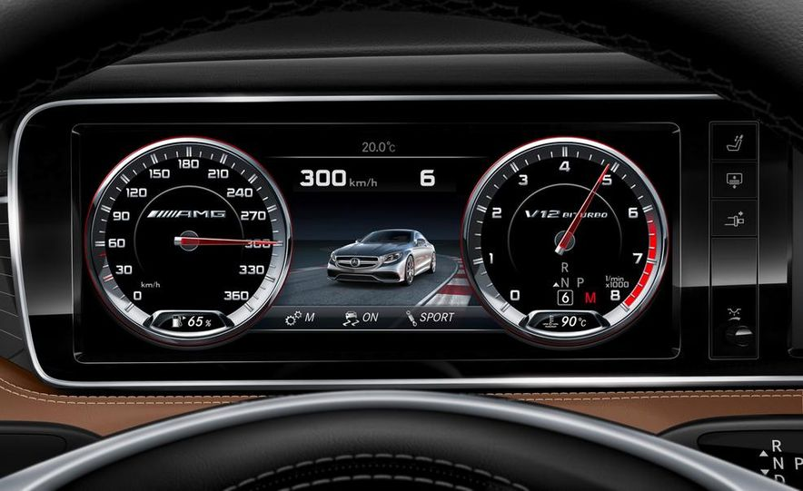 2015 Mercedes-Benz S65 AMG coupe - Slide 35